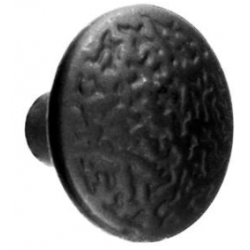"1 3/8"" Knob Rough Iron"