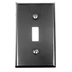 Iron-Steel Single Switchplate