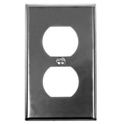 Iron-Steel Receptable Wall Plate