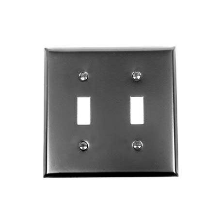Iron-Steel Double Toggle Switchplate