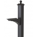 Balmoral Mailbox Post with Bracket
