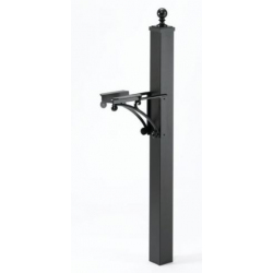 Deluxe Post and Bracket with Ball Cap