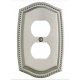 Satin Nickel Roped Outlet