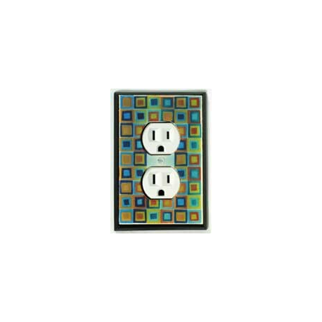 Tiny Tiles Outlet Switch Plate