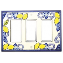 Lemons Triple Decora Switch Plate