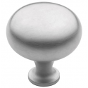Simple Satin Chrome Knob