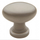 Traditional Satin Nickel Oval Knob