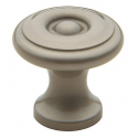 Simple Colonial Satin Nickel Knob