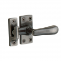 Large Casement Fastener in Antique Nickel