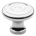 Polished Chrome Colonial Knob