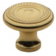 Classic Roped Knob Polished Brass