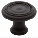 Classic Roped Knob Oil-Rubbed Bronze