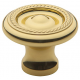 Polished Brass Roped Knob