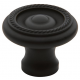 Oil-Rubbed Bronze Roped Knob