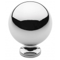 Polished Nickel Classic Spherical Knob