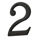 Oil-Rubbed Bronze House Number 2