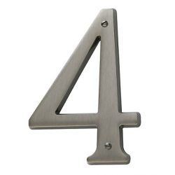 Antique Nickel House Number 4