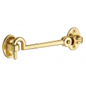 Swivel Cabin Door Latch in Polished Brass 001-114