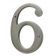 Antique Nickel House Number 6