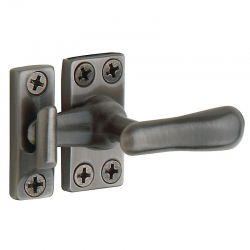 Small Casement Fastener in Antique Nickel