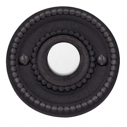 Distressed Venetian Bronze Beaded Bell Button