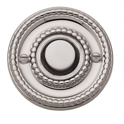 Lifetime Polished Nickel Beaded Bell Button