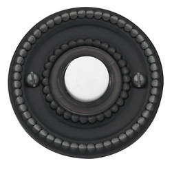 Oil-Rubbed Bronze Beaded Bell Button