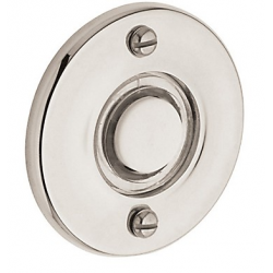 Lifetime Polished Nickel Round Bell Button