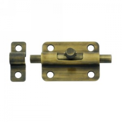 "3"" Barrel Bolt in Antique Brass 200-30"