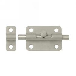 "3"" Barrel Bolt in Satin Nickel 200-32"
