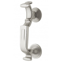 "Satin Nickel ""S"" Door Knocker"