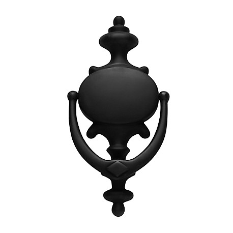 Satin Black Imperial Door Knocker