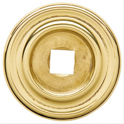 """Polished Brass Classic Back Plate 1.25"""""""
