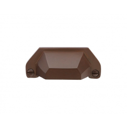 "3"" Bronze Bin Pull in Burgundy Bronze 263-123"