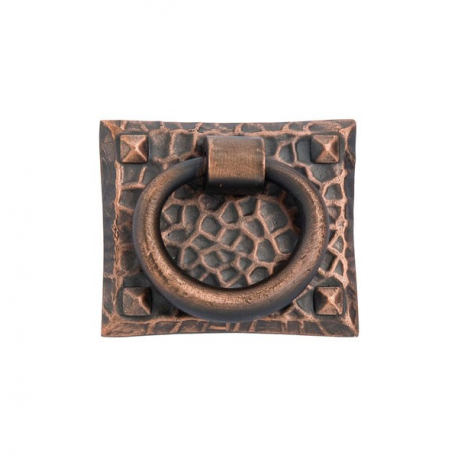 Hammered Ring Pull in Oil Rubbed Bronze 263-30
