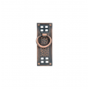 Hammered Ring Pull in Oil Rubbed Bronze