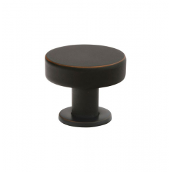 Button Knob in Oil Rubbed Bronze 263-74