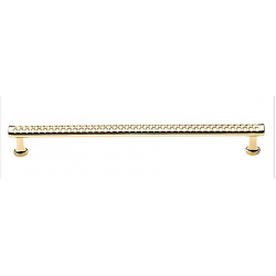 """Polished Brass Print Appliance Pull 12"""""""