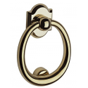 Polished Brass Ring Knocker