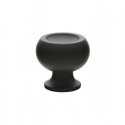 Impression Knob in Matte Black 263-60