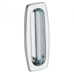 Flush Pull in Polished Chrome