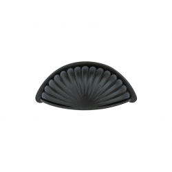 "3"" Fluted Bin Pull in Flat Black 263-132"