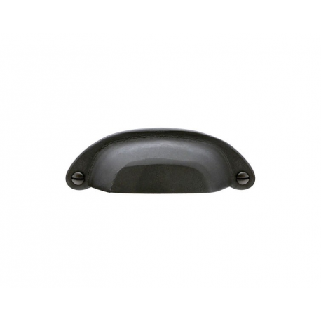"4"" Country Bin Pull in Flat Black 263-136"