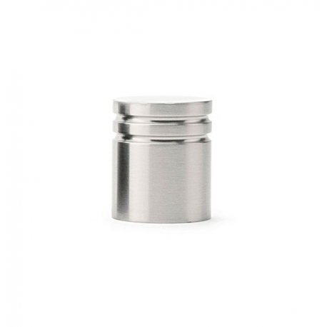 Metric Knob in Satin Nickel