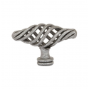 Twist Birdcage Knob in Pewter 263-16