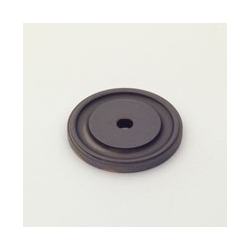 Oil-Rubbed Bronze Round Back Plate