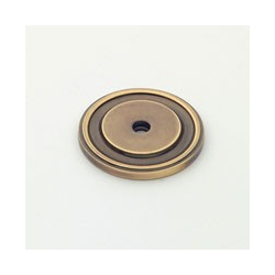 Polished Antique Round Back Plate