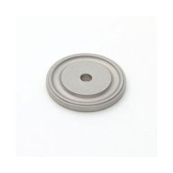 Satin Nickel Round Back Plate