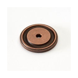Weathered Copper Round Back Plate