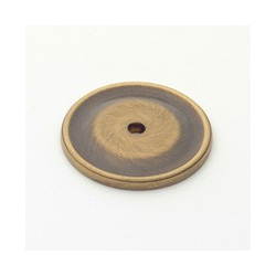 Antique Brass Circle Back Plate